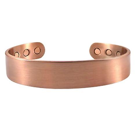 ofertas exclusivas 100% autenticado chic clásico Pulseras de cobre magnéticas para la artritis y alivio del ...