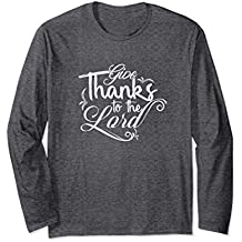 Give Thanks tShirt for Christian Girls and Woman