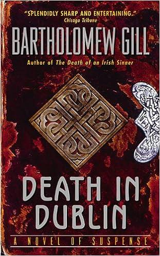 Death In Dublin A Peter Mcgarr Mystery B Gill 9780060008505