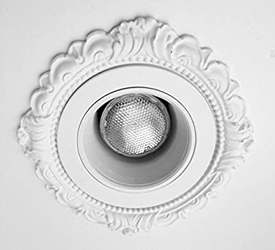 Recessed Light Add-on Trims for Four Inch Canisters, Victorian Style (use with your existing trim piece)