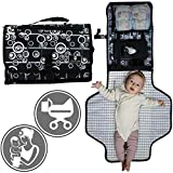 Baby Portable Diaper Changing Pad | Table Mat Station Travel Kit | Diaper