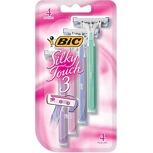 BIC Silky Disposable Shaver 4 Count
