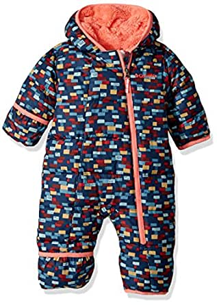 Columbia Baby Boys' Frosty Freeze Bunting, Collegiate Navy Critters, 3/6