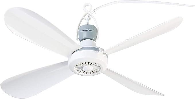 Ventilador de techo portátil 230 V con colgador, diámetro de 40 cm: Amazon.es: Iluminación