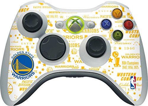 NBA - Golden State Warriors - Golden State Warriors Historic Blast - Skin for 1 Microsoft Xbox 360 Wireless Controller by Skinit