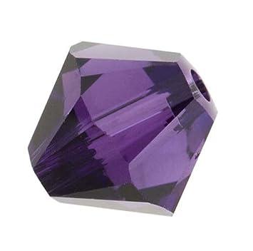 e0f51bf94 Amazon.com: 100pcs 3mm Adabele Austrian Bicone Crystal Beads Purple Velvet  Compatible with Swarovski Crystals Preciosa 5301/5328 SSB327: Everything  Else