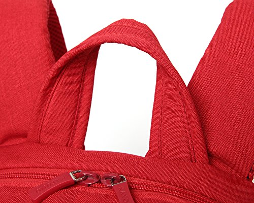 57bc2fd9e2 Kayond®laptop Backpack -Ultralight Water resistance Nylon Fabric EPE Foam  Sandwich-classic for School and Bussiness (Red)  Amazon.ca  Luggage   Bags