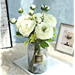 Skyseen-5PCS-Tea-Rose-Bouquet-Simulated-Camellia-Bride-Holding-Flowers-Wedding-Artificial-Flowers-White
