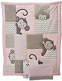 Best Bedtime Originals Beddings - Bedtime Originals 3 Piece Crib Bedding Set, Pinkie Review