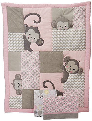 Bedtime-Originals-3-Piece-Crib-Bedding-Set-Pinkie