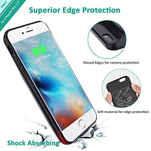 the best attitude fb78e 64687 iPhone 6s Plus/6 Plus Battery Case, Stoon 7200mAh Portable - Import ...