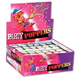 Celebration Champagne Party Poppers Bulk Assorted (144pcs), Health Care Stuffs