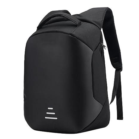 USB Mochila de seguridad con cargador,STRIR Mochila Bolsa Impermeable de colegio viaje negocios,