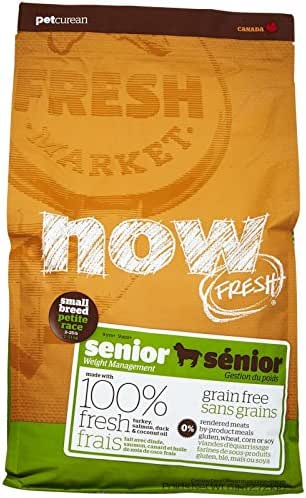 Now Fresh Grain Free Small Breed Senior Recipe - 6Lb