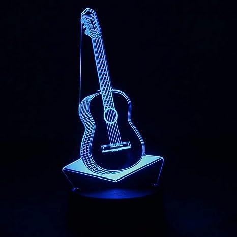 NUÜR Lámpara Guitarra: Amazon.es: Electrónica