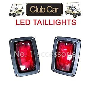 Amazon.com: No. 1 kit de luces traseras LED para coche Club ...