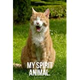 My Spirit Animal: Sleepy Cat Journal