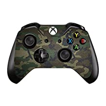 UUShop Camo Vinyl Skin Decal Cover for Microsoft Xbox One Controller wrap Sticker Skins