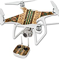 Skin For DJI Phantom 4 Quadcopter Drone – Desert Stripes | MightySkins Protective, Durable, and Unique Vinyl Decal wrap cover | Easy To Apply, Remove, and Change Styles | Made in the USA