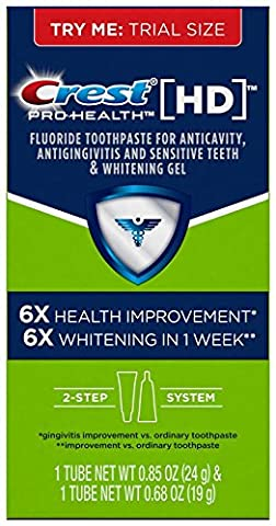 Crest Pro-Health Hd Daily Two-Step Toothpaste System .85 Oz and .68 Oz, 0.13 Pound - 2 Step System