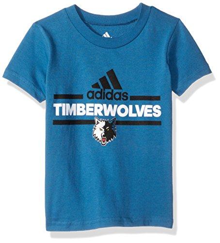 - Outerstuff NBA Toddler Minnesota Timberwolves Mini Dassler Short Sleeve Tee-Capital Blue-3T