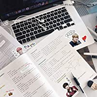 BTS Stickers with Korean phrases: the Kpop & Kdrama way to learn Hangul. A collectible fanart sticker set by S'VELTE.
