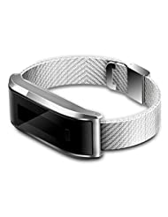 Lolipp Bluetooth 4.0 Smart Bracelet Waterproof Sport Watch with SMS Reminder/Pedometer/Sleeping Monitor/Sedentary Reminder/Calorie Track Remote Camera - Silver