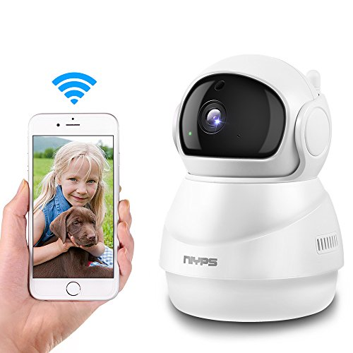 NIYPS Wifi Wireless IP Camera, 1080P HD Indoor Home Security Surveillance System with Two-Way Audio,Infrared Night Vision and Motion Detection Pefect As Baby Monitor, Nanny Cam,Pet Camera