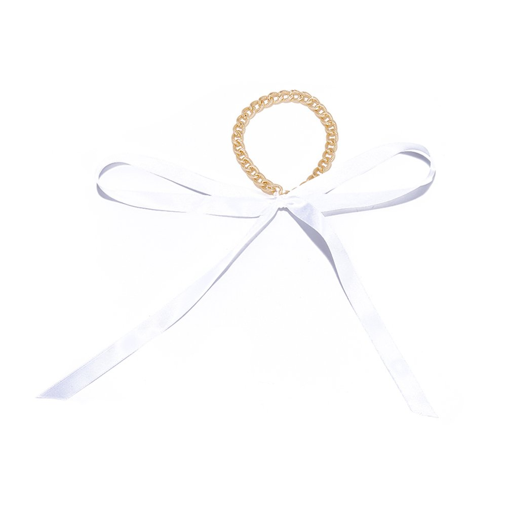 angel3292 Fashion Choker Chain Ribbon Necklace Women All-match Party Cocktail Jewelry Gift