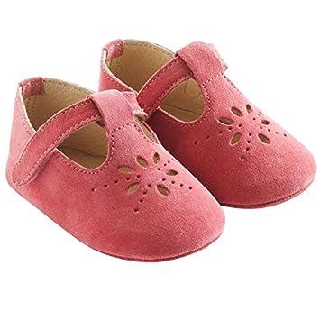 San Francisco 79613 68a24 Tichoups Chaussures bébé cuir souple Salomé framboise 16/17 ...