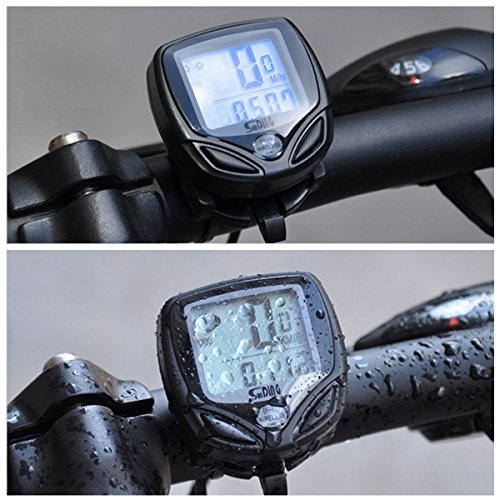 LCD Digital Cycle Bike Computer