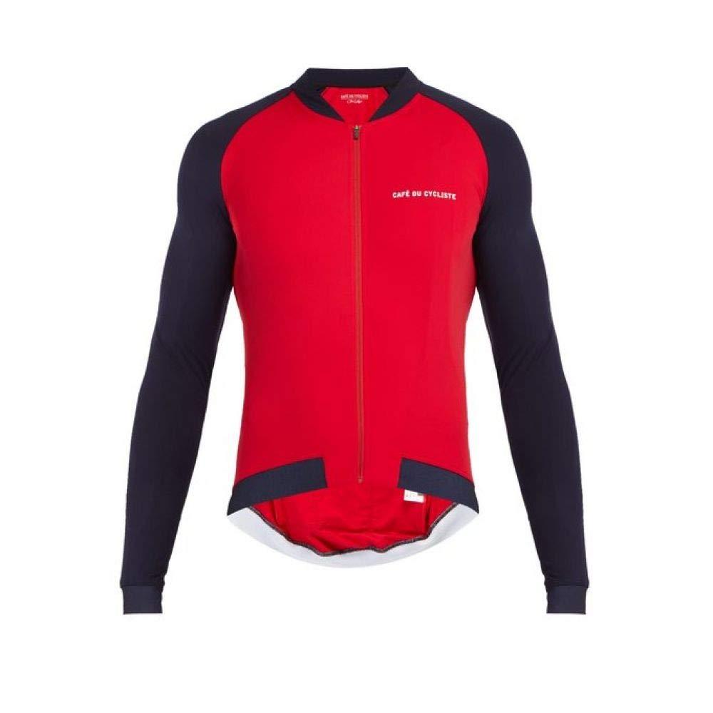 (カフェ ドゥ シクリスト) Cafe Du Cycliste メンズ 自転車 トップス Daphne zip-through cycling jersey [並行輸入品] B07L5KCYRS L