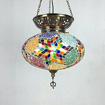 Romántico artesanal Glaze turco Candelabro decorativo,B ...