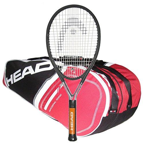 Head Ti.S6 STRUNG with 6 Racquet Tennis Bag
