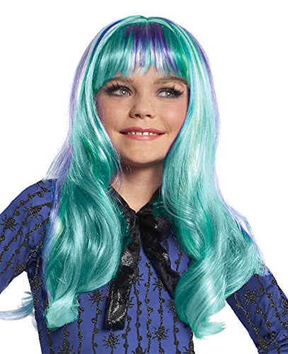 UHC Child Monster High Twyla Wig Headpiece Disguise Party Halloween Accessory