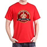 CafePress HIMYM Naked Man 100% Cotton T-Shirt Red