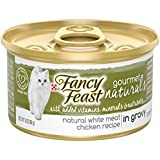 Purina Fancy Feast Gourmet Naturals Grain Free White Meat Chicken Recipe in Gravy Adult Wet Cat Food - (12) 3 oz. Cans