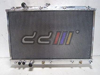Amazon com: DD Racing Alloy Radiator Fit Mitsubishi Lancer Mirage