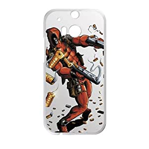 Heroic deadpool Cell Phone Case for HTC One M8