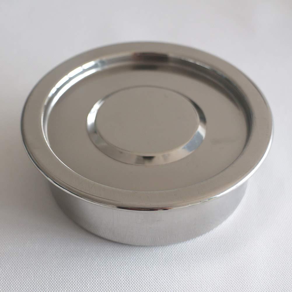 Tansoole /φ10 /× 4,5 cm 5#(Lochdurchmesser: 5mm) Laborbedarf Edelstahlfilter Edelstahlsieb