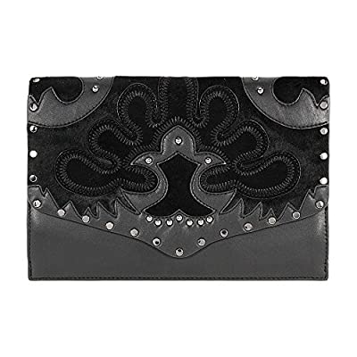 Rebecca Minkoff Biker Ladies Small Leather Clutch Handbag HF17GABC47