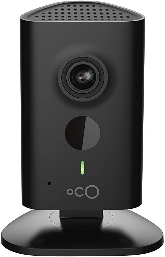 Oco HD Wi-Fi Security Camera System with Micro SD Card support and Cloud Storage for Home and Business Monitoring, Two-Way Audio and Night Vision, 960p / 720p