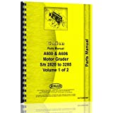 Galion A-600 Grader Parts Manual