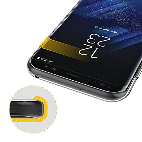 EasyAcc Funda Huawei P8 Plus Ligera TPU Transparente Caracsa de Resistente y Flexibilidad