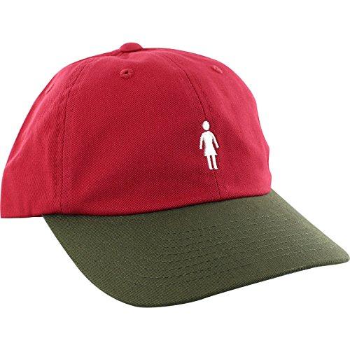 Girl Skateboards OG Micro Red / Army Snapback Hat - Adjustable