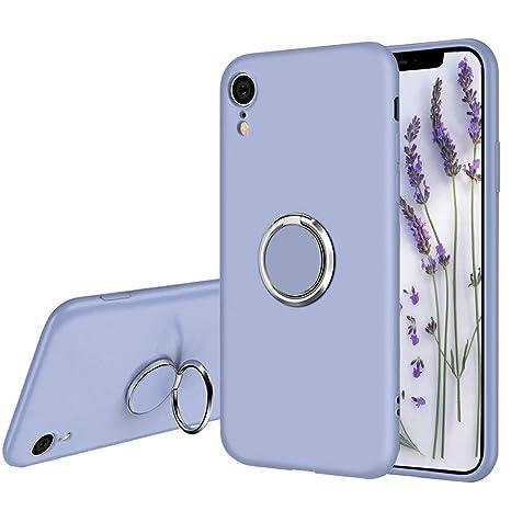 Amazon.com: Ownest - Carcasa de silicona para iPhone XR con ...