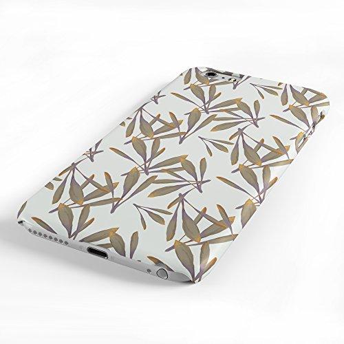 Koveru Back Cover Case for Apple iPhone 6 Plus - Crying Girl Oak Leaf Pattern