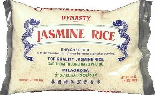 Dynasty BG12244 Dynasty Jasmine Rice - 2LB by Dynasty