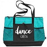 Ballet Dance Bag Greta: Gemline Select Zippered Tote Bag