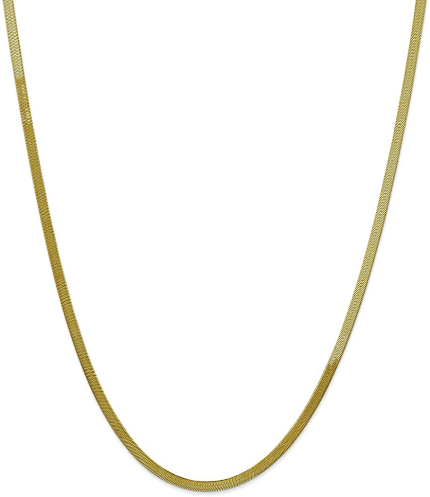 Lex /& Lu 14k Yellow Gold 3.0mm Hollow Rope Chain Necklace or Bracelet